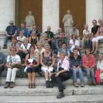 Groepsfoto reis Rome 2013