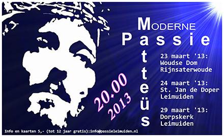 Poster passie 2013